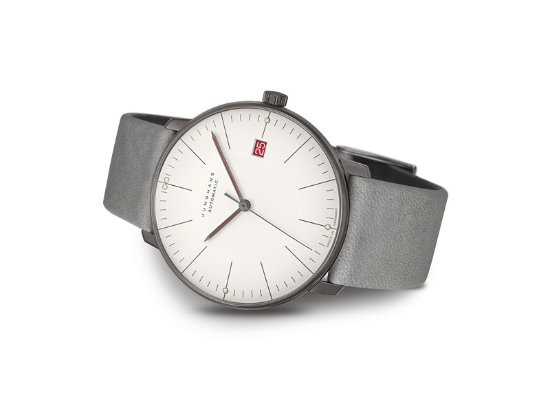 Junghans max bill Automatic 100 J. Bauhaus 027 4901 02 Beauty